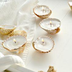 burkatron.: diy | handmade shell candles