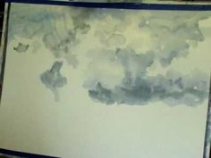 Millie Gift Smith Painting Clouds in Watercolor