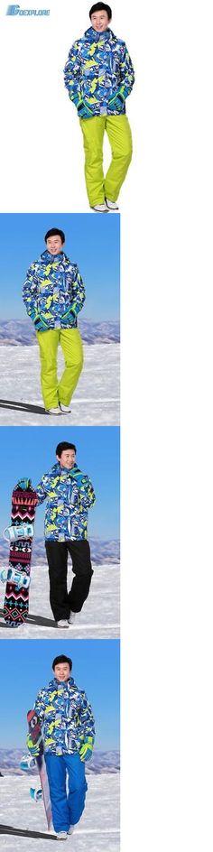 Snowsuits 62178: Marsnow Ski Set Jacket And Pants Winter Warm Ski Skiing Snowboard -> BUY IT NOW ONLY: $154.99 on eBay!