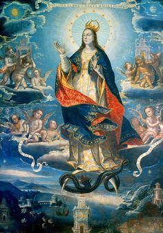 Baltasar de Echave Ibía. The lmmaculate Conception, 17th Century.