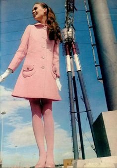Pink outfit c. late 60s
