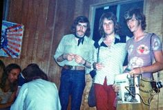 Ten Years After backstage with Larry Lent at the 2nd Atlanta Pop Festival