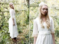 Minna Bohemian Vintage Bridal Gowns Love Letter 2013 Collection
