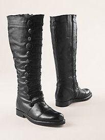 Women's High-Button Boots