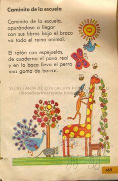 Caminito of the school - Learn Spanish