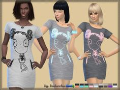 The Sims Resource: Dress Lovely by Bukovka • Sims 4 Downloads