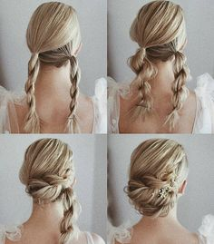 Gorgeous and Easy Homecoming Hairstyles Tutorial For women with medium shoulder length to long hair. These hairstyles are great for any occasion whether you just want quick and casual or simple yet elegant wedding hairstyles ,prom hair, Braided hairstyles Easy Homecoming Hairstyles, Hair For Homecoming, Homecoming Queen, Homecoming Pictures, Medium Hair Styles, Curly Hair Styles, Hair Simple Styles, Medium Hairs, Wedding Hairstyles Tutorial