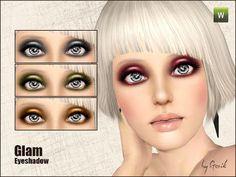 Custom Sims 3: Glam Eyeshadow