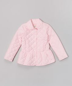 Another great find on #zulily! Candy Pink Quilted Jacket - Toddler & Girls by E-Land Kids #zulilyfinds