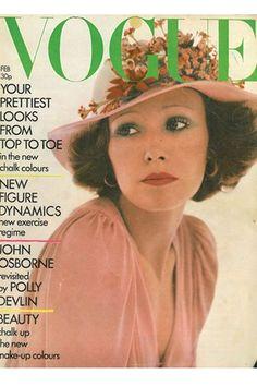 British Vogue February 1973