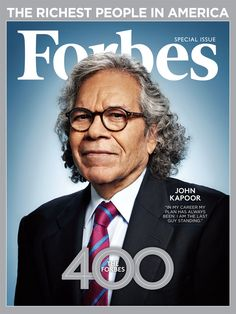 John Kapoor landed a cover on our Forbes 400 special edition issues. Click to check out the full list of the 400 richest people in America.