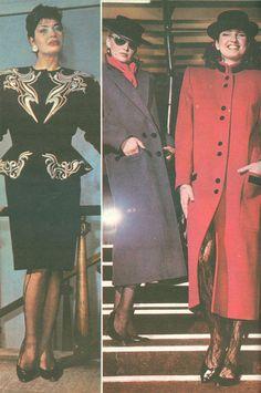 Moda Anului 1989 in Romania - 80s Fashion, Maternity Fashion, My Childhood, 1980s, Fashion Inspiration, Anna, Aesthetics, Prom, Senior Prom