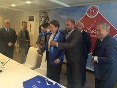 MHP eski Milletvekili ve Genel Başkan adayı Meral Akşener, Giresunda basın toplantısı düzenledi. Meral Akşener, MHPnin