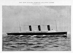 Rms Mauretania, Queen Mary, Steamer, Titanic, Trains, Anchor, Past, Cruise, British