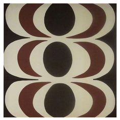1967 Fabric Designed by Maija Isola-Marimekko | From a unique collection of antique and modern textiles and quilts at https://www.1stdibs.com/furniture/more-furniture-collectibles/textiles-quilts/
