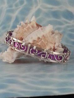 Designer Filigree Wire Wrap Bracelet