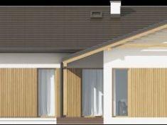 DOM.PL™ - Projekt domu SD Ponza CE - DOM SD2-01 - gotowy koszt budowy Chile, House Plans, Garage Doors, Outdoor Decor, Ideas, Home Decor, Dreams, Plants, Architecture