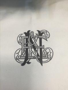 Beautiful custom monogram | Custom Monograms Crests | Heraldry | Designs for Weddings | Dinnerware | China