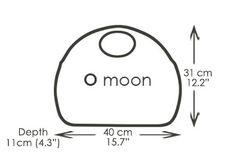 O moon classic. The O moon handbag / shoulder bag new for Spring 2017 from O bag Italian Handbags, O Bag, Online S, Moon, Shoulder Bag, Sewing, Diy, Handbags, The Moon