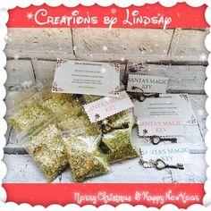 Santa Keys Magical Keys Santas Magic Key Christmas Eve