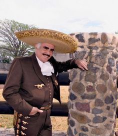 True Mexican Icon-Mr Vicente Fernandez