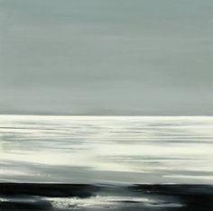 """Reflections of Light Langevatnet Norway,"" original landscape painting by artist Matthieu van Riel (Norway) available at Saatchi Art. #SaatchiArt"