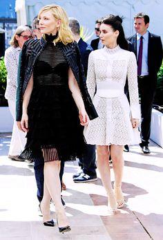Cate Blanchett & Rooney Mara - Cannes Film Festival 2015
