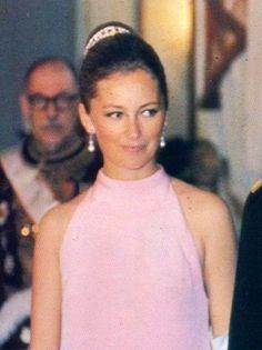 Young Princess Paola  (now Queen of Belgium)
