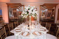Blush And Ivory Centerpiece - Blush Wedding