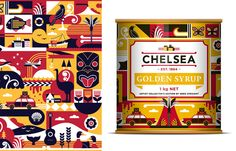 New Zealand sugar refinery, Chelsea Sugar partnered with celebrated artist Greg Straight to product a special edition label for their golden...