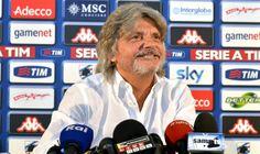 """Massimo Ferrero, presidente della Sampdoria, parla ai microfoni di Marte Sport Live: """"Soriano? Il Napoli non lo vuole, altrimenti lo avrebbe già preso."""