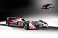 Dragon Racing Formula E car.