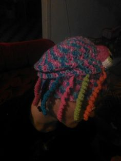 jelly fish hat of my own design side view