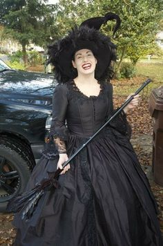 Gothic Victorian Steampunk Wedding Gown by RomanticThreads on Etsy, $845.00