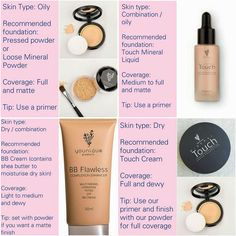 The perfect way to pick the foundation that best suits your skin!