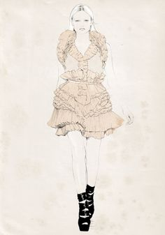 Amazing Fashion Sketches