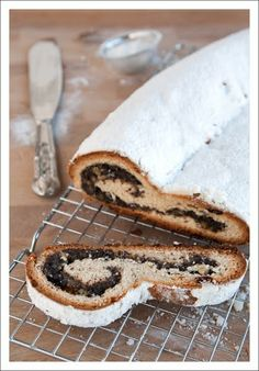 Poppy Seed - Marzipan Stollen