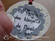 Pour réaliser la peinture à gratter : 1 mesure de liquide vaisselle, une mesure de peinture acrylique (grise)