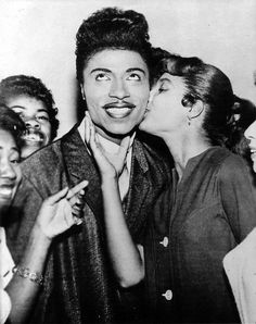 little Richard I've been lucky  enough  to see him in person twice....he is fabulous!!!