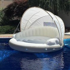 Inflatable Kayak Hacks Details about Huge Inflatable Floating Canopy Sunshade Pool Island Beach Party Raft Float 78 - Inflatable Pool Float - Ideas of Inflatable Pool Float - Party Raft, Beach Party, Floating Canopy, Cool Pool Floats, Giant Pool Floats, Summer Pool, Pool Fun, Beach Pool, Fabric Shades