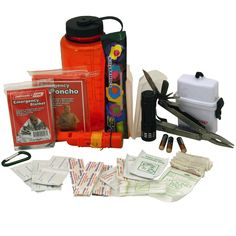 Emergency Zone Deluxe Survival Bottle Kit:Amazon:Sports & Outdoors