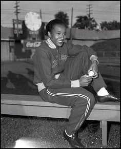 1948 - First African-American woman to win an Olympic gold medal: Alice Coachman