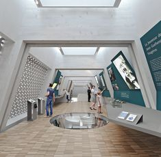 C.I.A.P. centre d'interprétation de l'architecture et du patrimoine_FOUGERES - Agence a/LTA architectes - urbanistes Le Trionnaire (x2) - Tassot - Le Chapelain Centre, Architects