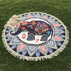 Cheap mat mat, Buy Quality mandala mat directly from China indian mat Suppliers: Summer Indian Elephant Mandala Flower Bohemia Tassels Tapestry Wall Hanging Beach Throw Mat Hippie Bedspread Yoga Mat Blanket Colorful Elephant, Elephant Love, Elephant Art, Elephant Design, Elephant Stuff, Elephant Cushion, Elephant Quilt, Mandala Elephant, Elephant Tapestry