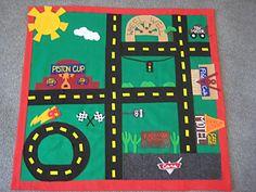 Racecar mat