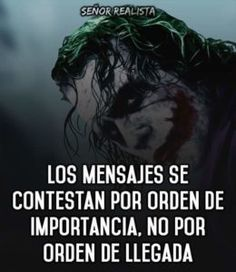 Joker Frases, Joker Quotes, Joker And Harley, Harley Quinn, Joker Heath, Quotes En Espanol, Sad Love, Spanish Quotes, Romance