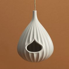 Jonathan Adler Bird house. So the birds can live in style.