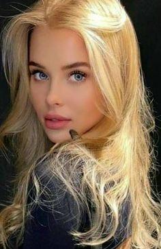 Cute Beauty, Real Beauty, Most Beautiful Eyes, Beautiful Women, Pin Up Girl Vintage, Beautiful Blonde Girl, Blonde Women, Gold Hair, Woman Face