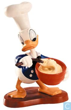 "Donald Duck - ""Something's Cooking"" (2001 Fall Premiere Event Sculpture) Numbered Limited Edition 5,000 Closed Edition 10/01	$98"