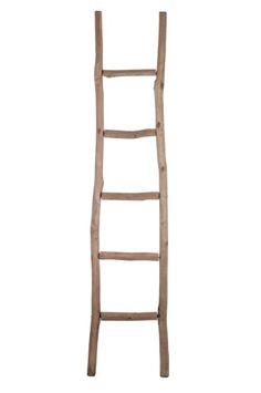 Walter Van Gastel - J-Line houten ladder 'Winter Coral' collectie